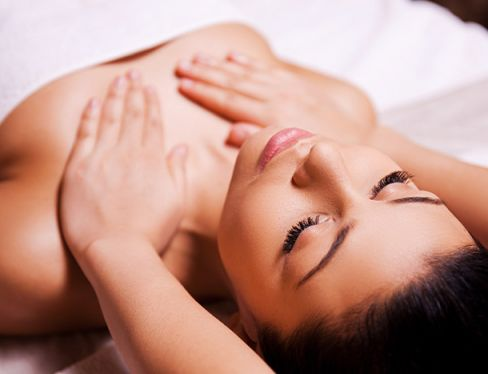 Massage tonique oriental beaume alun